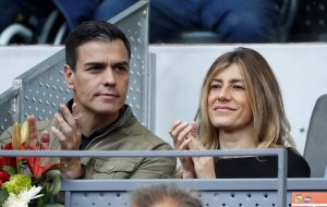 Pedro Sánchez y su mujer Begoña Gómez en una imagen de archivo