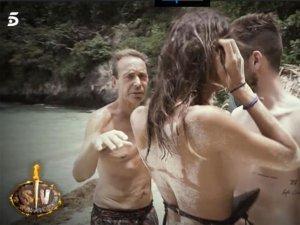 Sofía Suescun, en topless delante del Maestro y Alejandro.