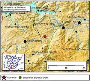 Un terremoto de 4.1 grados sacude Granada, Málaga y Córdoba