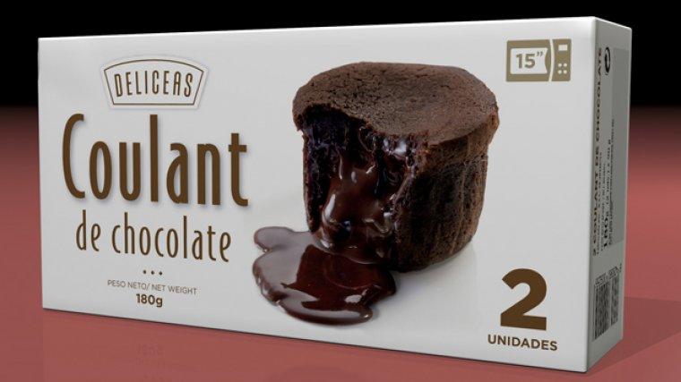 Coulant de chocolate Deliceas