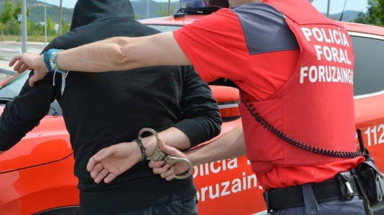 Imagen de archivo de la Policía Foral de Navarra