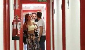 Alejandro y Sofía discutiendo en Mediaset