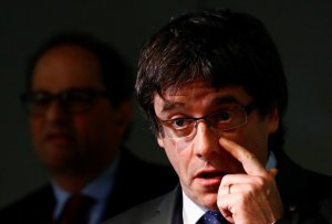 El expresidente de la Generalitat de Catalunya, Carles Puigdemont