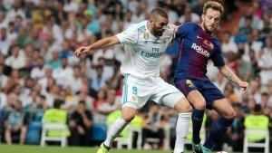 Imagen de un partido entre Barça y Real Madrid de la temporada pasada.
