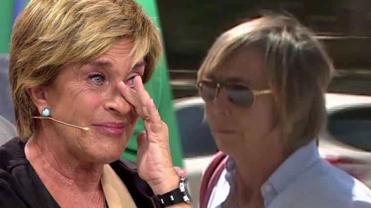Las cámaras de 'Sálvame' mostraron la cara de Marta, esposa de Chelo García-Cortés, después de años de estricta intimidad en su relación