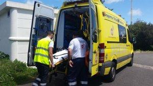 Fallece un ciclista al chocar contra un turismo en Mogán (Las Palmas)