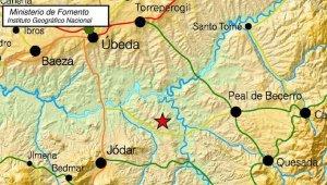Imagen de archivo del terremoto registrado en la provincia de Jaén.