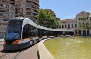 Imagen de archivo del tramvía de Valencia