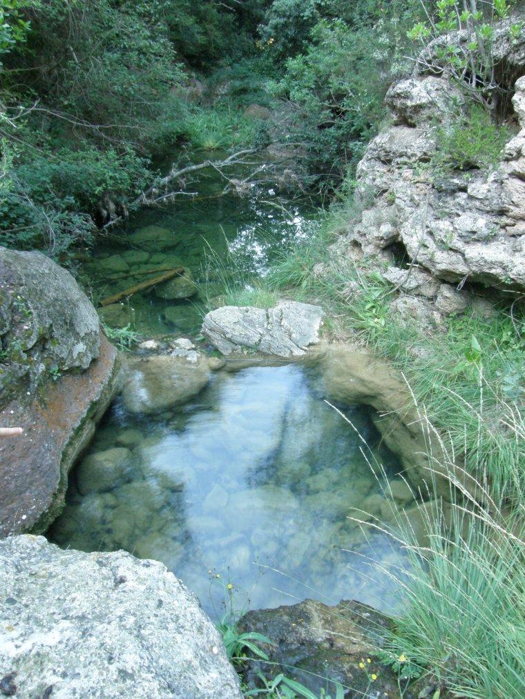 Barranc de les Tosques, a Vilaplana
