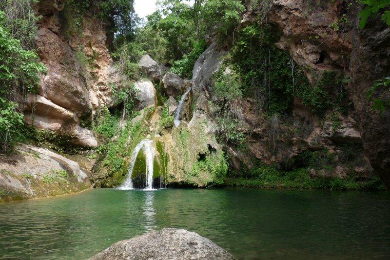 Niu de l'Àliga, entre Alcover i Mont-ral
