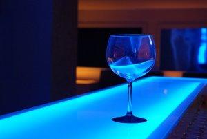 Barra d'una discoteca de Salou