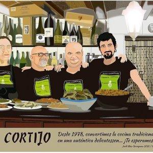 La família del Bar Cortijo a Tarragona
