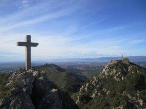 Vista del Penedès des de la Talaia del Montmell