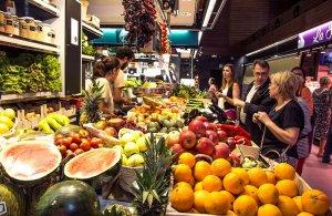 Fruita fresca al Mercat Central de Tarragona