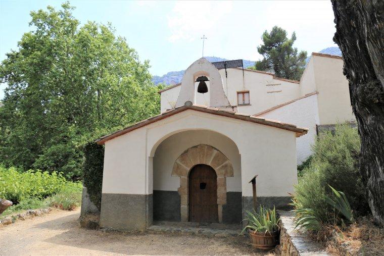 L'ermita de Sant Antoni, abans de Santa Bàrbara.
