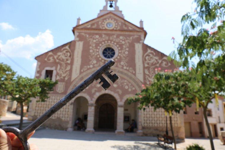Tenim la clau del Santuari de la Mare de déu del Loreto.