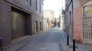 El carrer de Gornals, on s'ha produït l'entrada