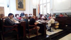 El plenari de Reus durant la sessió d'aquest mes de juliol