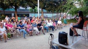 L'acte de Construïm República s'ha celebrat a la plaça de la Patacada