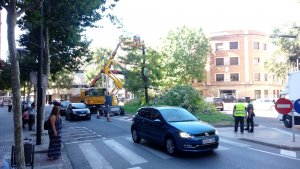 Les obres de la plaça de Villaroel s'executaran durant l'estiu