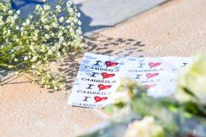 Acte d'homenatge a les víctimes de l'atemptat a Cambrils