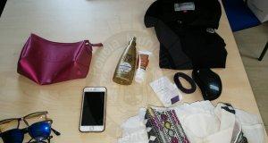 Diferents objectes robats per la dona a clients de l'hotel.