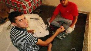 Els dos terroristes que es van instal·lar al xalet d'Alcanar, fotografiats.