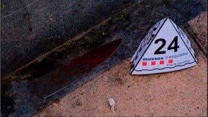 Imatge d'un dels ganivets dels terroristes de Cambrils.