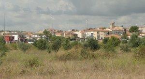 La zona del Logis més pròxima al poble de Banyeres.