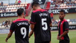 Linares (9) i Catena (5) són alguns dels nous dorsals roig-i-negres