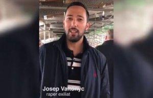 Valtonyc, en el vídeo.