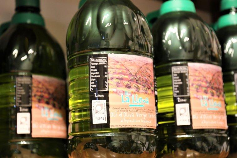 L'oli d'Ulldemolins, de cultiu ecològic.