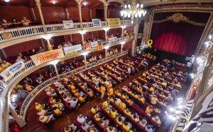 El Teatre Bartrina de Reus va acollir la trobada.