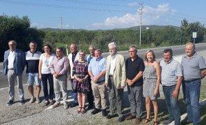 Els alcaldes i alcaldesses del Pacte de Berà.