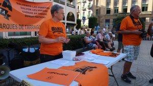 Els membres de la Marea Pensionista es trobaran cada dilluns