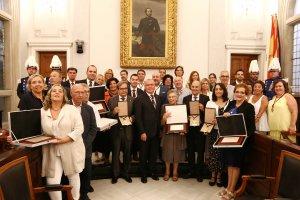 Els premiats dels Guardons de la Ciutat 2018