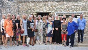 Imatge de les dones sueques que participen a l'exposició