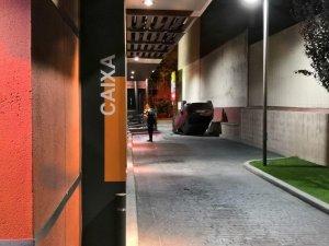 Imatge del vehicle accidentat al Mcdonald's