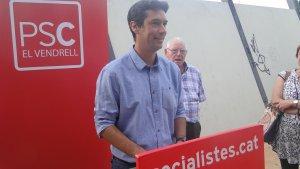 Kenneth Martínez serà l'alcaldable del PSC al Vendrell.