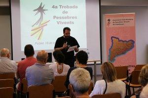 La trobada es va iniciar amb la rebuda de tots els Pessebres Vivents participants.