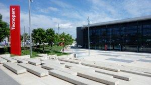 L'edifici principal de Redessa al Tecnoparc, on s'ha traslladat Canal Reus TV