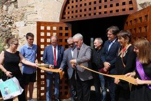 Les imatges de la Inauguració del Castell de Falset-Museu Comarcal