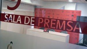 Sala de premsa, CF Reus, mitgetes