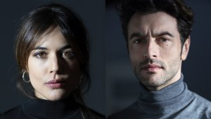 Adriana Ugarte y Javier Rey, protagonistes del nou thriller de Netflix