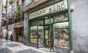 El Colmado Baró de Reus està ubicat al carrer Galanes.
