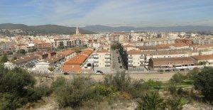 El Vendrell, vist des de la torre del Puig.