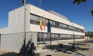 Imatge de l'exterior de la comissaria dels Mossos d'Esquadra de la comissaria de Salou.