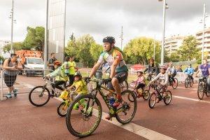 La Bicicletada Solidària a Reus en imatges