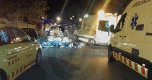 L'accident ha tingut lloc a l'Oasis, a Vendrell.