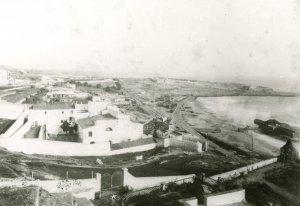 Vista del Penal del Miracle, al lloc de l'antic Convent dels Trinitaris